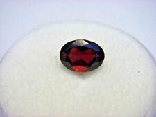 Rhodolite Garnet Gemstone Oval Cut 6 mm x 4 mm 0.55 carat faceted natural Gem