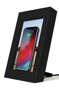 twelve south PowerPic Picture Frame Stand 10W Qi Charger Wireless