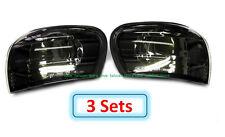 3 Sets (DHL) - for SUBARU IMPREZA GC8 CC8B 1995-2000 Corner Lights Lamps - Black