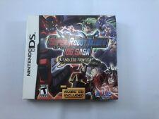 Super Robot Taisen OG Saga: Endless Frontier Incudes CD & Box (Nintendo DS)