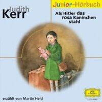 ELOQUENCE JUNIOR-JUDITH KERR - ALS HITLER DAS ROSA KANINCHEN STAHL  CD NEW