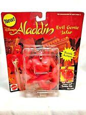 "Mattel Vintage Disney Aladdin Evil Genie Jafar + Snake Sceptor 5"" Action Figure"