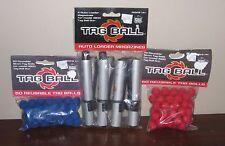 Tag Ball | *NEW* x4 Auto Loader Magazines x100 Red Blue 19mm Balls 4800 Gun