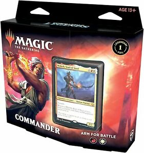 Magic the Gathering - Commander Legends Commander Deck Arm For Battle