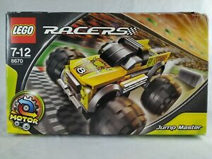 LEGO RACERS 8670 Jump Master - Sealed Box - 105 pieces ages 7-12