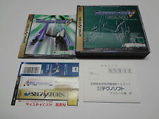 Thunder Force V Special Pack + Reg Card w/Spine Sega Saturn Japan