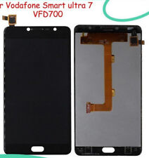 DISPLAY LCD+TOUCH SCREEN ZTE VODAFONE SMART ULTRA 7 700 VFD700 VETRO NERO 2016