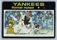 1971  THURMAN MUNSON - Topps Baseball Card # 5 - NEW YORK YANKEES