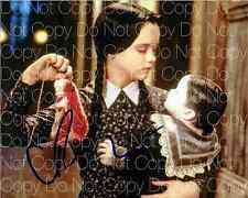 Addams Family signed 3 Christina Ricci 8X10 photo picture poster autograph RP