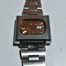 Vintage Seiko 5 Automatic 21 Jewels Watch 6119-5401 Collectible (Working)