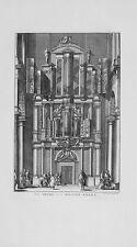 Antique map, Het orgel in de wester kerke