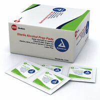 1 Box of 200 MEDIUM ALCOHOL PREP PADS #1113 SWABS WIPES 200 BRAND NEW ! #1113