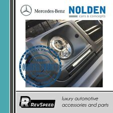 Nolden w/ Mercedes-Benz Genuine G CLass W463 Frames with LED Lights Chrome 89-12