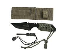 "Survivor Hk-106320 Outdoor Fixed Blade Knife 7"" (Includes Sheath & Fire Starter)"