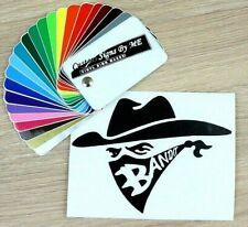 Bandit With Bandanna Car Sticker Vinyl Decal Adhesive Window Bumper Tailgate LS