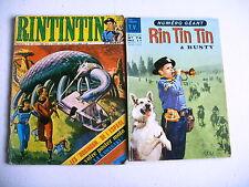 BD - RINTINTIN lot 2 mensuels n° 74 et 38 - 1966 et 1973
