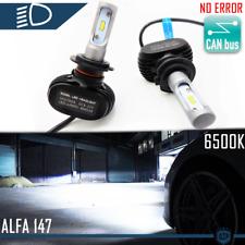 KIT Lampadine LED H7 CANBUS per Alfa Romeo 147 00-05 Anabbaglianti 6500K 8000LM