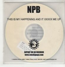 (GO786) NPB, This Is My Happening And It XXXXX Me Up - DJ CD