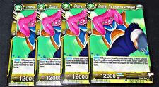 4x Dodoria, the Emperor's Attendant BT1-100 Common Dragon Ball Super TCG NM