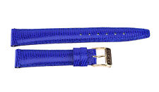 14 mm Original Ladies Blue Leather Gucci Watch Strap Band 14MM S CD