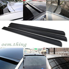 Unpainted For KIA Forte Koup Coupe Window Visor Roof Sport Spoiler Wings 09-13