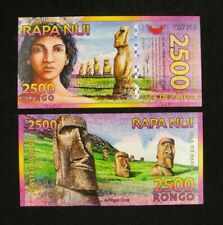 Easter Island Polymer New 2014 Rongo 10,000 10000 2013 UNC /> Beautiful