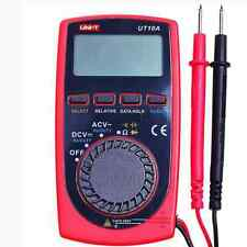 UNI-T UT10A Modern Pocket Size Digital Multimeters AC DC Meter Ohm Capacitance