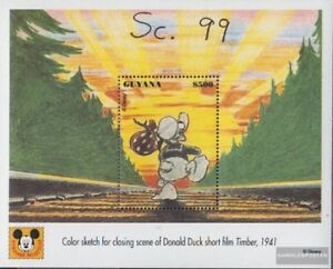 Guyana Block364 (complete issue) unmounted mint / never hinged 1993 Donald Duck