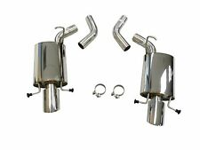 OBX Exhaust System For 2009 To 2014 Cadillac CTS-V, 6.2L, V8, AT / MT, Axle Back