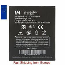 New Battery for THL T6/T6 PRO/T6S/T6C BL-06 2250mAh  - Fast Shipping from Europe