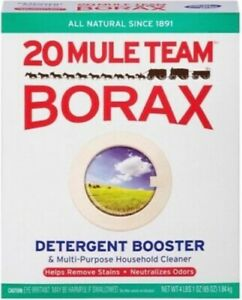 65 oz Borax  20 Mule Team Natural Laundry Booster FAST FREE SHIPPING!!