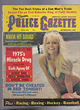 National Police Gazette Oral Roberts Mae West Bobby Bonds April 1975