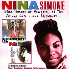 Nina Simone at Newport, The Village Gate and Elsewhere - 2 CDs