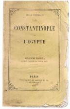 VIMERCATI - CONSTANTINOPLE ET L'EGYPTE - LIVRE ANCIEN RARE - TURQUIE