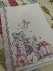 CONGRATULATIONS ON YOUR SPECIAL DAY GREETING CARD With Love Wedding Couple