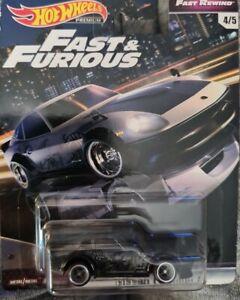 Hot Wheels Fast & Furious Fast Rewind Nissan Fairlady Z Premium Die-cast New
