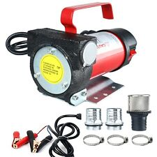12V 10.5GPM Electric Kerosene Biodiesel Diesel Oil Fuel Transfer Extractor Pump