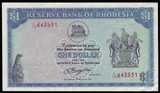 RHODESIA • 1979 • One Dollar / $1 • KP # 30c • EF