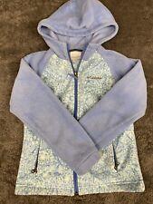 Beautiful Columbia Girl's Small 7/8 Hooded Fleece