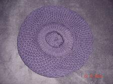 béret  violet en laine, mode parisienne, taille unique, NEUF