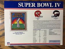 SUPER BOWL 4 JETS COLTS 1970 Willabee & Ward OFFICIAL SB IV NFL PATCH MVP DAWSON