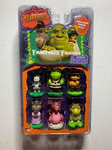 2006 Shrek Fairytale Friends Dreamworks Figures Donkey, Dragon, Wolf Brand New