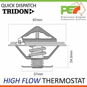 * TRIDON * High Flow Thermostat For Mercedes Benz 240 D 300 D W115 W123