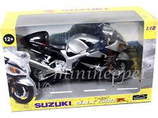 AUTOMAXX 600203 SUZUKI GSX 1300 R HAYABUSA BIKE MOTORCYCLE 1/12 BLACK / SILVER