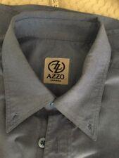 Camisa De Azo Talla. 3.  Azul