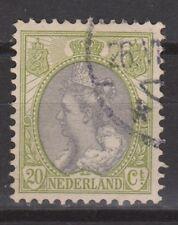 NVPH Netherlands Nederland 69 used Wilhelmina bontkraag 1899-1921 Pays Bas