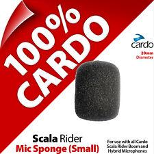 Cardo Scala Rider Mic Sponge Small Boom/Hybrid Microphone Qz Q1 Q3 G9x PackTalk