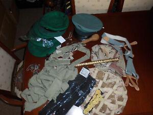 Joblot of military items