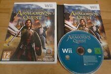 NINTENDO WII Juego El Señor De Los Anillos Aragorn's Quest