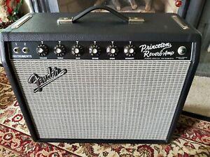 '65 Fender Princeton Reverb 15 watt Guitar Amp